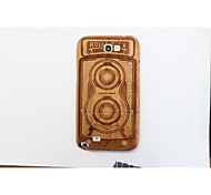 con vero bambù naturale moda modello in legno della copertura posteriore custodie protettive per Samsung Galaxy Note II N7100