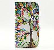 farbige Bäume Muster der Inneren gemalt Karten für Samsung-Galaxie s6