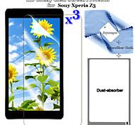 Hd premium 3in1 brillante pantalla LCD Clear flim protector con juego de paño de limpieza para z3 xperia sony