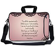 "Elonbo It's Me Carrying Handle & Removable Shoulder Strap Laptop Bag for 13"" Macboob pro HP"