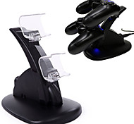 Dual PS4 Gaming Controller LED Charging Stand USB Charger Dock Station Cradle for Sony Playstation 4