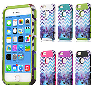 Plastic and TPU Tank Star Anchor Wave Model for iPhone 6 (Assorted Colors)