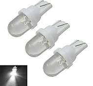 Luces Decorativas T10 0.5W 1 30-50lm LM Blanco Fresco DC 12 V 3 piezas