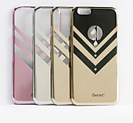 iSecret+® bling-v Series with Vacuum Electronic Plating and Laser Etching for iPhone 6plus(Assorted Colors)