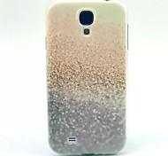 patrón de gradiente de TPU suave para mini i9190 Samsung Galaxy S4