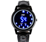 Men's Fashion Rolling LED Waterproof Watches (Assorted Colors)