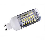 G9 Bombillas LED de Mazorca T 80 SMD 3528 1000 lm Blanco Cálido / Blanco Fresco DC 12 V 1 pieza