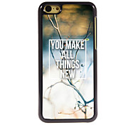 You Make All Things New Design Aluminum Hard Case for iPhone 5C