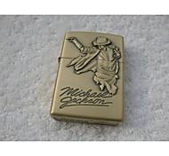 Michael Jackson Series Kerosene Lighter Relief Style (Pattern Randomly Shipped)