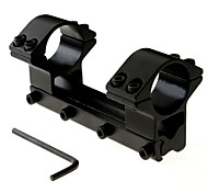 25.4MM 1'' Low Profile Scope Mount 11mm Weaver Rail 100mm Long For Rifle Scope Double Scope Ring Mounts