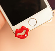 New Big Red Lips  3.5mm Anti-dust Plug for iphone 6 /5/5s