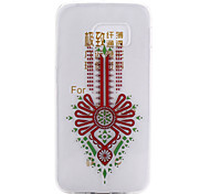 Fashion Design Pattern TPU Soft Cover for Samsung Galaxy S6