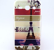 For Samsung Galaxy Case Pattern Case Back Cover Case Eiffel Tower TPU Samsung Trend 3