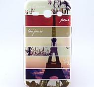 Para Funda Samsung Galaxy Diseños Funda Cubierta Trasera Funda Torre Eiffel TPU Samsung Trend 3