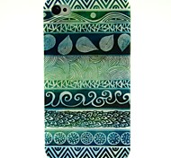 Retro Totems Pattern TPU Soft Back Case for iPhone 4/4S