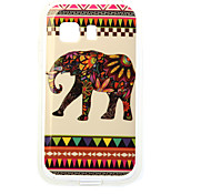 For Samsung Galaxy Case Pattern Case Back Cover Case Elephant TPU Samsung Young 2