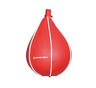 winmax® saco de pvc velocidade boxe vermelho / bola velocidade