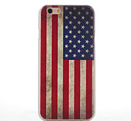 For iPhone 6 Case / iPhone 6 Plus Case Pattern Case Back Cover Case Flag Hard PC iPhone 6s Plus/6 Plus / iPhone 6s/6