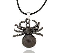 Ожерелье Ожерелья с подвесками Бижутерия Спорт Кожа Черный 1шт Подарок
