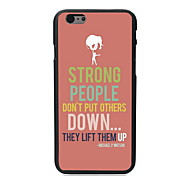 Strong People Design PC Hard Case for iPhone 6