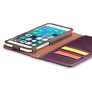 Acase compatible Genuine Leather Special Design with Wrist Strap Wallet Case for iPhone6