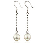 Earring Drop Earrings Jewelry Women Sterling Silver 2pcs Silver