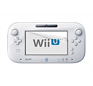 Anti Scratch Reusable Screen Protector Compatible With Nintendo Wii U Gamepad Remote Controller