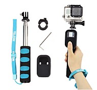 Handheld Remote Pole Selfie Stick Extendable Telescopic Monopod for GoPro 2 3 4 Camera