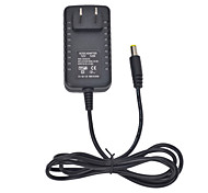 12W 12V 1A US Plug AC Power Adapter for LED Light Bulb and Surveillance Security Camera (5.5x2.1mm/100~240V)