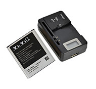 "YI-YI™ YI-YI™ Replacement 2100mAh Li-ion Battery with US 0.8"" LCD Battery Charger for Samsung Galaxy S3 I9300"