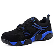 Men's Shoes Outdoor/Casual/Athletic Tulle Fashion Sneakers/Athletic Shoes Blue/Red/White