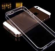 Transparent Back Case Cover for iPhone 5/5S