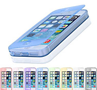 colore solido casi corpo pieno compatibili iphone 5s 5 / iphone