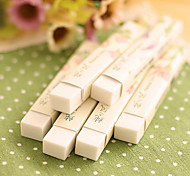 Strip Shape School Style Chinese White Erasers