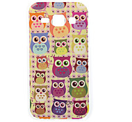 Color Owl Painting TPU Case for Samsung Galaxy J1