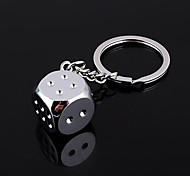 Unisex Fashion Alloy Key Chain Dice Key Chain
