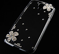 Blossom with drill Back Case for Samsung Galaxy S4 I9500