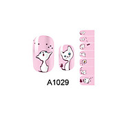 14PCS Nail Art Stickers A Series NO.1029