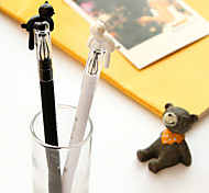 Cartoon Cat Lovers Neutral Pen(Random Color)