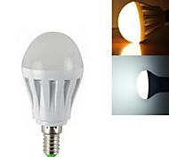 3W E14 LED Kugelbirnen SMD 2835 260-350 lm Warmes Weiß / Kühles Weiß AC 220-240 V 1 Stück