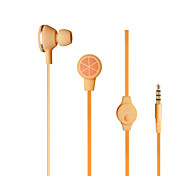 Q1-1 fruit color Headset for various brands of mobile phone