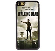 The Walking Dead Pattern Aluminum Hard Case for iPhone 5C