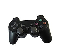 nieuwe zwarte draadloze schok game controller voor ps2 draadloze controller