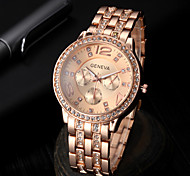 High-end Fashion Business Casual Men's Diamond Steel Quartz Watch Cool Watch Unique Watch