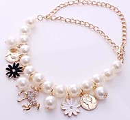 The 2015 Petal Head Are 5 Words Mix Of Multilayer Korean Lady Pearl Bracelet