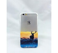 Graphic/Special Design TPU Back Cover for iPhone 6