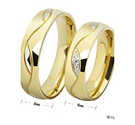Classic Unisex As Picture Diamond Couple Rings(As Picture)