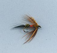 Mosche / Esca Mosche 0.08g g / <1/18 Oncia mm pollice 12pcs pc Pesca a mosca