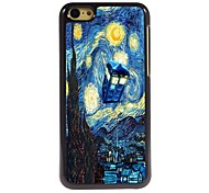 The Starry Night Design Aluminum Hard Case for iPhone 5C