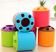 Cute Plastic Pen Holders & Cases(Random Color)